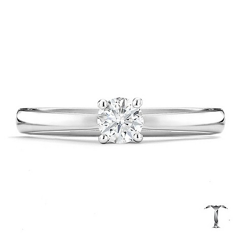 Tolkowsky 18ct white gold I I11/4 carat diamond ring