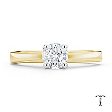 Tolkowsky 18ct yellow gold 0.50ct I-I1 diamond ring - Product number 8661138
