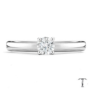 Tolkowsky platinum I I1 1/3 carat diamond ring - Product number 8661804