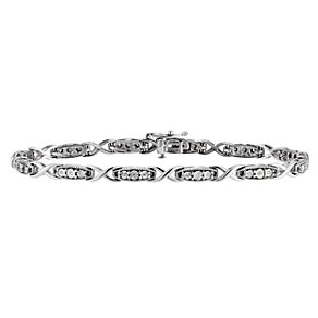 Silver & Diamond Bracelet - Product number 8662819
