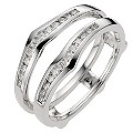 Perfect Fit 18ct White Gold 1/4 Carat Diamond Enhancer - Product number 8670617