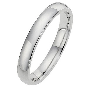 Silver Super Heavyweight 3mm Court Ring