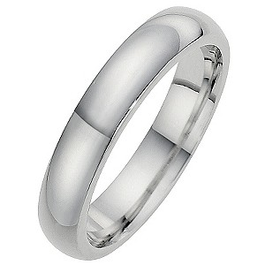 Silver Super Heavyweight 4mm Court Ring