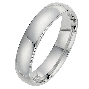 Silver Super Heavyweight 5mm Court Ring
