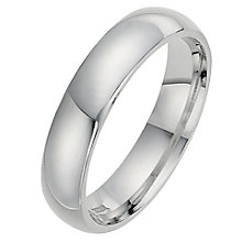 Silver Super Heavyweight 5mm Court Ring - Product number 8677301