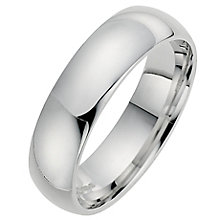 Silver Super Heavyweight 6mm Court Ring - Product number 8677611