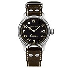 Hamiliton men's stainless steel & brown strap watch - Product number 8691142