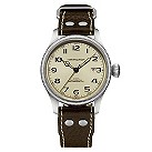 Hamilton men's cream dial & brown strap watch - Product number 8691150