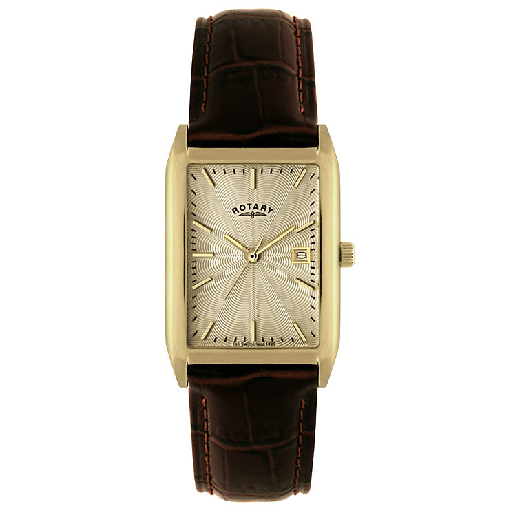 Rotary Men's Brown Strap Watch - Product number 8692033