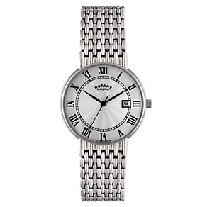 Rotary Men's Stainless Steel Bracelet Watch - Product number 8692041