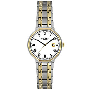 Rotary Ladies' Two Tone Bracelet Watch - Product number 8692106