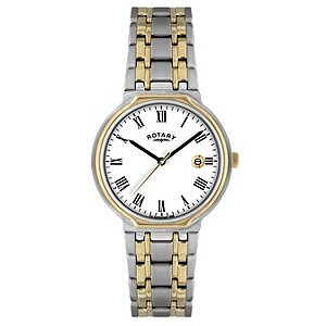 Rotary Men's Two Tone Bracelet Watch - Product number 8692114