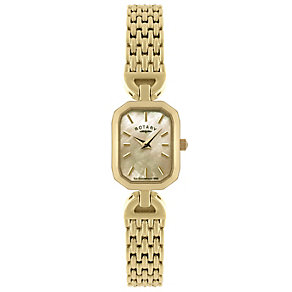 Rotary Ladies' Gold Plated Bracelet Watch - Product number 8692157