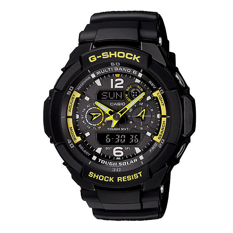 G-Shock Aviator Radio Controlled Solar Powered Watch - Product number 8692882