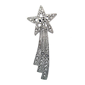 Crystal Shooting Star Brooch - Product number 8694257
