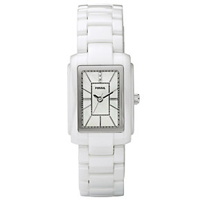Fossil Ladies' Rectangular Dial Watch - Product number 8694923