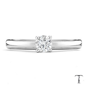 Tolkowsky 18ct white gold HI SI2 0.25ct diamond ring - Product number 8697582
