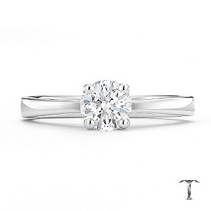 Tolkowsky 18ct white gold HI SI2 2/3 carat diamond ring - Product number 8698007