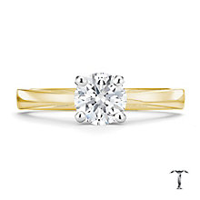 Tolkowsky 18ct yellow gold 0.75ct HI-SI2 diamond ring - Product number 8698953