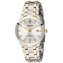 Accurist Men's Two Tone Bracelet Watch - Product number 8704864