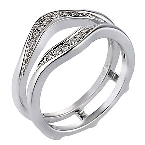 Perfect Match - 18ct White Gold Diamond Enhancer - Product number 8709920