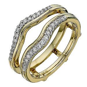 Perfect Fit 18ct Yellow Gold Diamond Enhancer - Product number 8710457