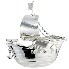 Childhood Memories Pirate Ship Money Box - Product number 8710643