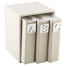 ABC Set of 3 Photo Albums - Product number 8710686