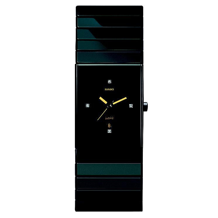 Rado Ceramica men's ceramic bracelet jubile watch - L - Product number 8712115