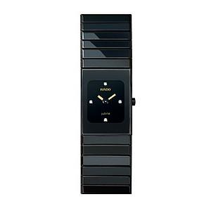 Rado Ceramica ladies' black ceramic bracelet watch - XS - Product number 8712123