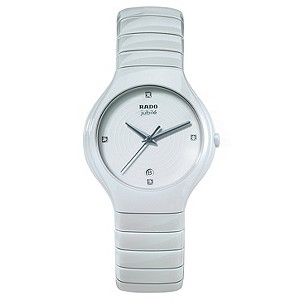 Rado men's white ceramic bracelet watch - Product number 8712131