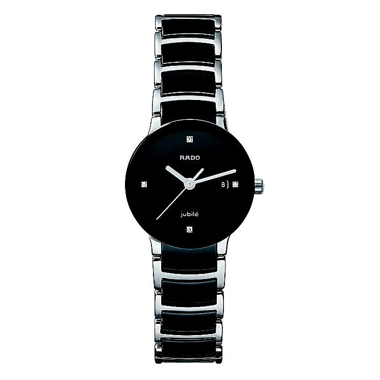 Rado Centrix ladies' steel & ceramic bracelet watch - S - Product number 8712271