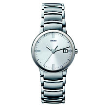men s rado watches ernest jones rado centrix men s stainless steel bracelet watch l product number 8712298