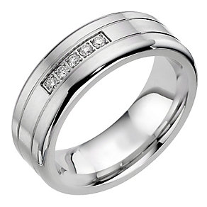 Cobalt 5 Diamond Groove Ring - Product number 8717044
