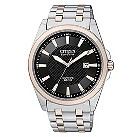 Citizen men's two tone stainless steel bracelet watch - Product number 8724369