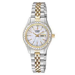 Ladies' Citizen Two Tone Bracelet Watch - Product number 8726272