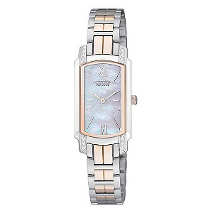 Ladies' Citizen Eco-Drive Two Tone Bracelet Watch - Product number 8726353