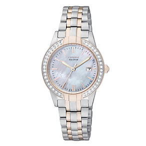 Ladies' Citizen Eco-Drive Two Tone Bracelet Watch - Product number 8726361