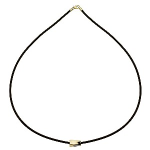 9ct Yellow Gold Twist Bead Necklace