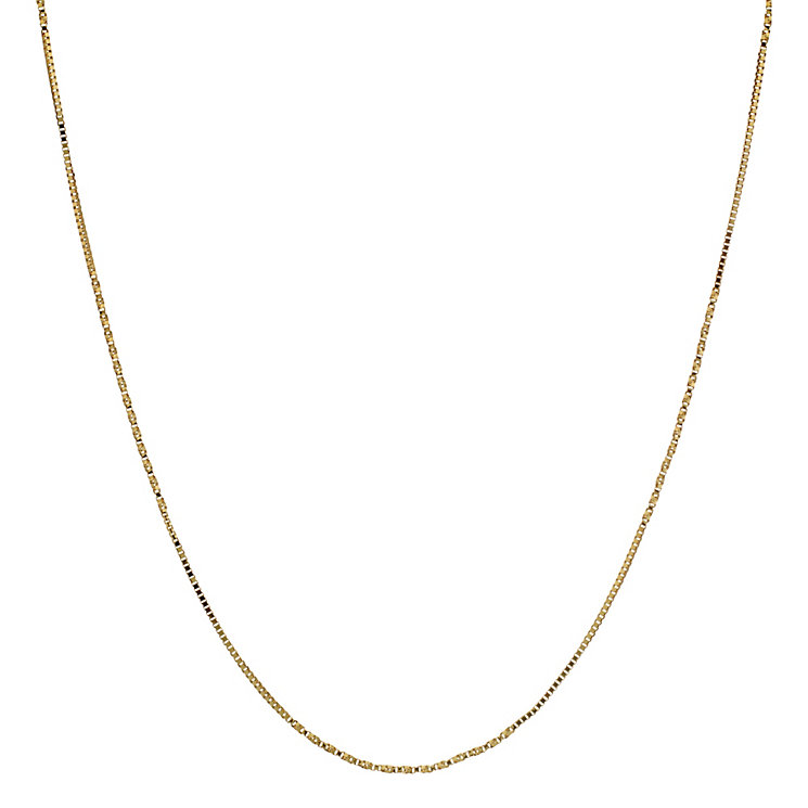 """9ct Yellow Gold 18"""" Twist Chain - Product number 8729425"""