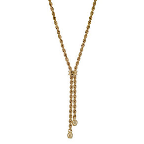 "9ct Yellow Gold 17"" Double Rope Necklace - Product number 8729476"