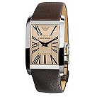 Emporio Armani rectangular dial strap watch - Product number 8731675