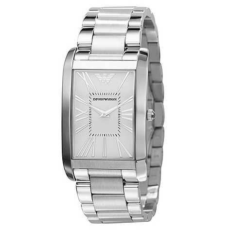 Emporio Armani stainless steel bracelet watch