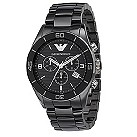Emporio Armani men's black ceramic bracelet watch - Product number 8731721