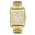 Michael Kors ladies' gold plated bracelet watch - Product number 8732159