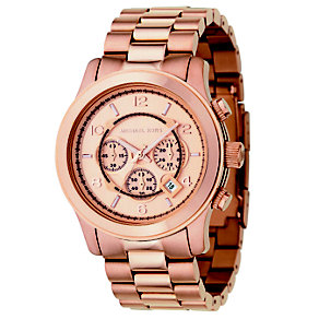 Michael Kors men's rose gold chronograph - Product number 8732426