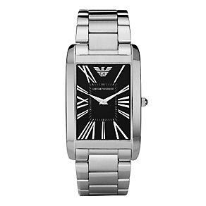 Men's Emporio Armani black bracelet watch - Product number 8732469
