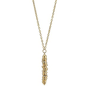 9ct Yellow Gold Candy Pendant Necklace 17.75