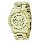 Michael Kors men's gold plated bracelet watch - Product number 8734488