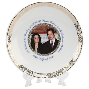 Exclusive Royal Wedding Plate - Product number 8736227